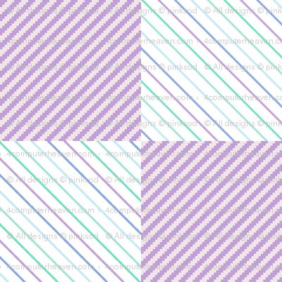 Micro Striped Checkers! - Desert Night - Desert Night Hex - © PinkSodaPop 4ComputerHeaven.com