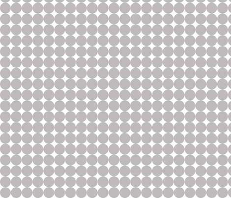 Dottie Chinchilla fabric by honey&fitz on Spoonflower - custom fabric