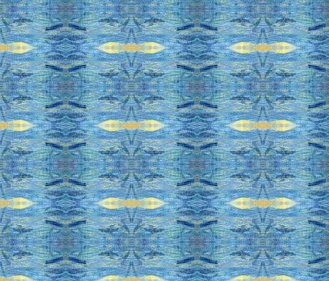 field of the sea fabric by vos_designs on Spoonflower - custom fabric