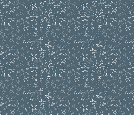 Oh My Stars fabric by hollycejeffriess on Spoonflower - custom fabric