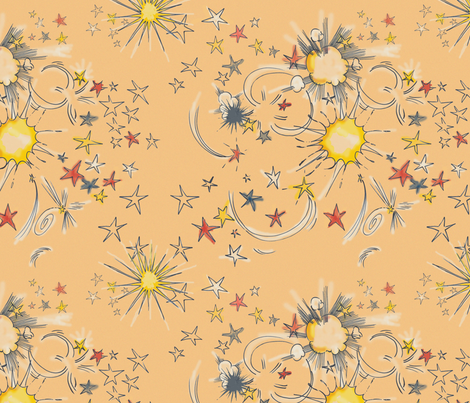 Boom fabric by hollycejeffriess on Spoonflower - custom fabric