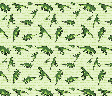 Curse Your Sudden But Inevitable Betrayal (large) fabric by studiofibonacci on Spoonflower - custom fabric