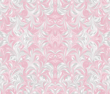 Blush-PSwirl fabric by modernmarblingdesign on Spoonflower - custom fabric