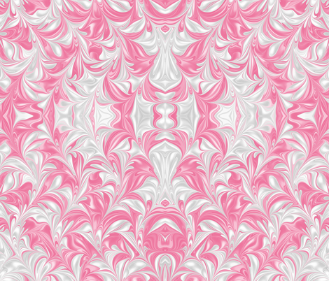 Begonia-PSwirl fabric by modernmarblingdesign on Spoonflower - custom fabric
