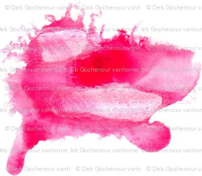 small pink sharkie mirrored