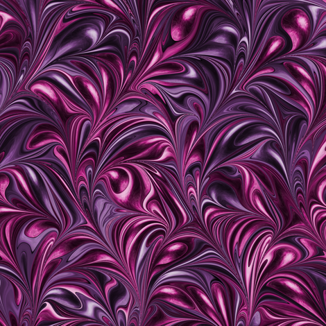 PM002-Swirl fabric by modernmarblingdesign on Spoonflower - custom fabric