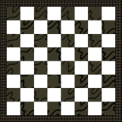 Chess Board -Square foot brown
