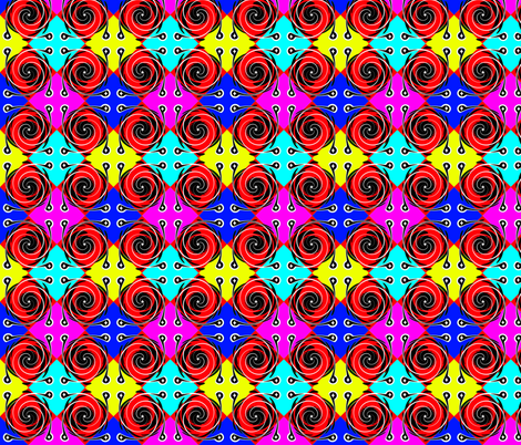 Deco21 fabric by retroretro on Spoonflower - custom fabric