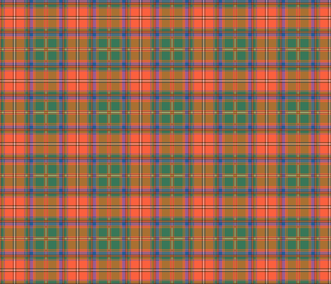 Somerville Ancient Tartan fabric by elramsay on Spoonflower - custom fabric