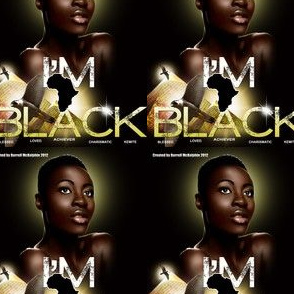 I_am_Black Head scarf