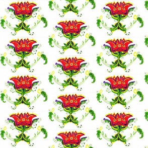 Dutch Folk Art flower