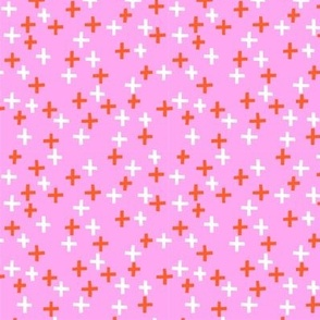 Plus - Pink + Orange
