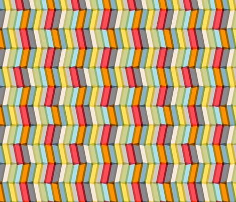 Play-Plax Chevron (Light) fabric by pennycandy on Spoonflower - custom fabric
