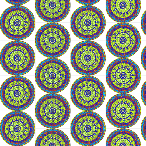 FLOWER OF LIFE 4 fabric by dovetail_designs on Spoonflower - custom fabric