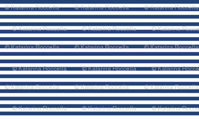 navy blue white stripe