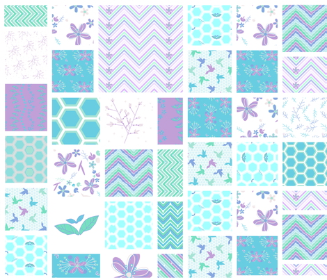 Cheater Quilt Squares! - Desert Night - Desert Night Hex - © PinkSodaPop 4ComputerHeaven.com