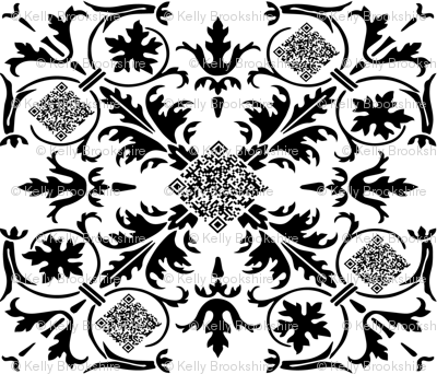 Geek Chic_QR Code Kaleidoscope_large repeat