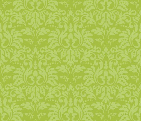 Pear_Damask fabric by kelly_a on Spoonflower - custom fabric