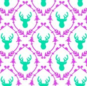 Roh_deer_pattern_-_green_pink_shop_thumb