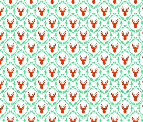 Rroh_deer_pattern_-_red_green_shop_preview
