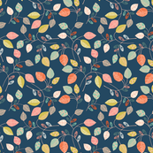 pattern leaves MINI