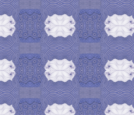 Hydrangea Dreams fabric by shinyjill on Spoonflower - custom fabric
