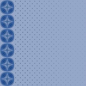 Moroccan Tiles 3 - Blue-Violet