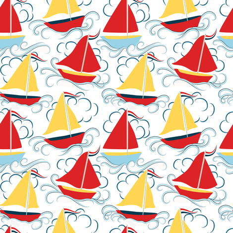 A squall fabric by vo_aka_virginiao on Spoonflower - custom fabric