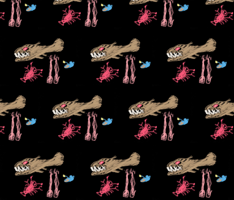deep sea fish fabric by fraso on Spoonflower - custom fabric
