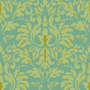 Pumpkined_Spice_Damask