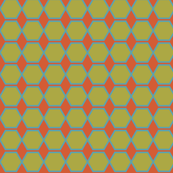 Green Hexies