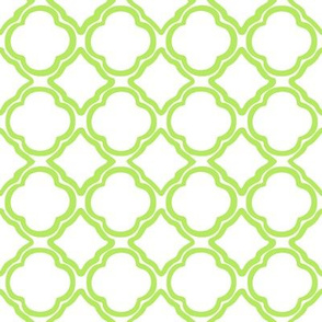 Trellis Apple Green