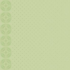 Moroccan Tiles 3 - Pale Green