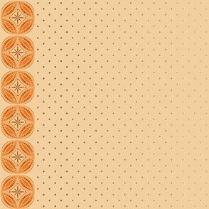 Moroccan Tiles 3 - Orange