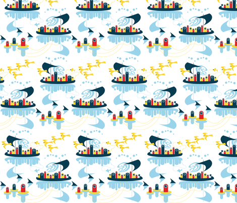 Overboard! fabric by oddlyolive on Spoonflower - custom fabric