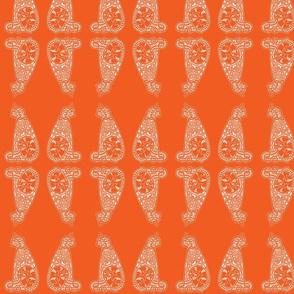 CatsMeow - med - bright orange reverse