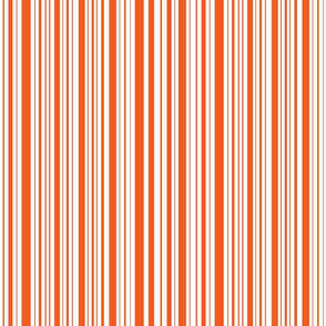 CatsMeow stripe - bright orange
