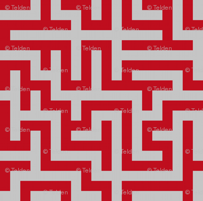 Maze - Red and Gray