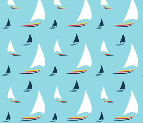 spoonflower-sailing-contest fabric by anonymuse on Spoonflower - custom fabric