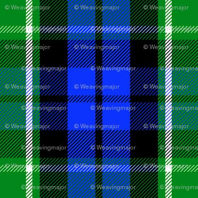 Graham of Menteith district tartan (modern colors)