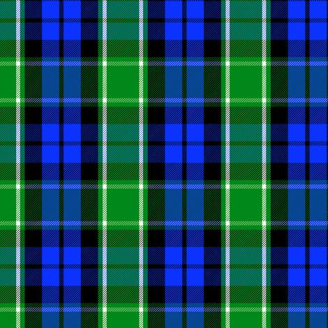 Graham of Menteith district tartan (modern colors) fabric by weavingmajor on Spoonflower - custom fabric