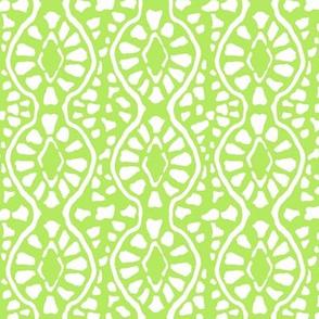 Cobblestone Trellis Kiwi Green