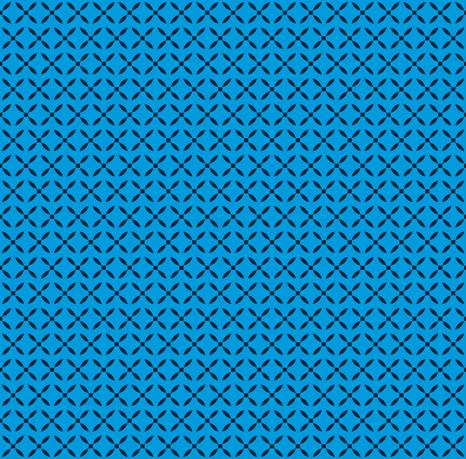 Four Petals - blue1
