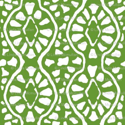 Cobblestone Trellis Green