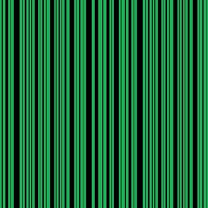 CatsMeow stripe - dark green & black