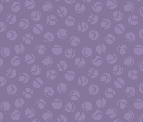 decimal ditsy, lavender fabric by weavingmajor on Spoonflower - custom fabric