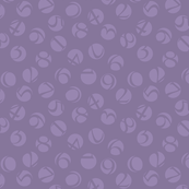 decimal ditsy, lavender
