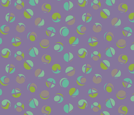decimal ditsy, shamrock fabric by weavingmajor on Spoonflower - custom fabric