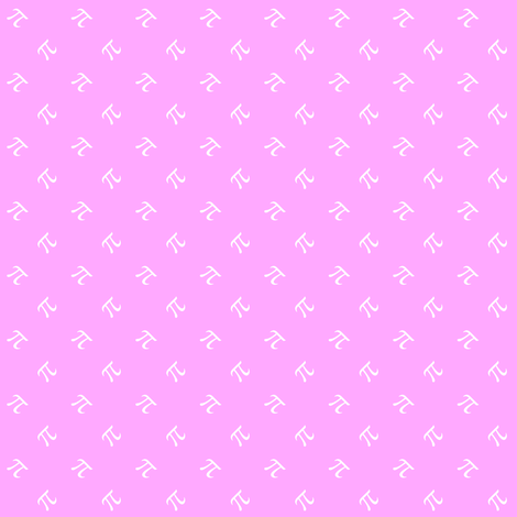 tiny pi diamonds (sweet pink) fabric by weavingmajor on Spoonflower - custom fabric