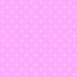 tiny pi diamonds (sweet pink)